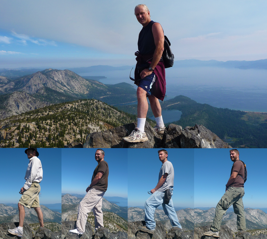 Top of Mt. Tallac